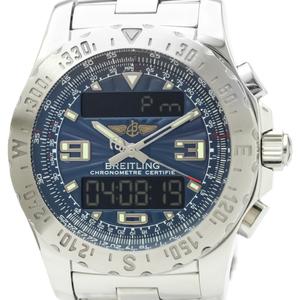 Breitling Airwolf Quartz Stainless Steel Men's Sports Watch A78363