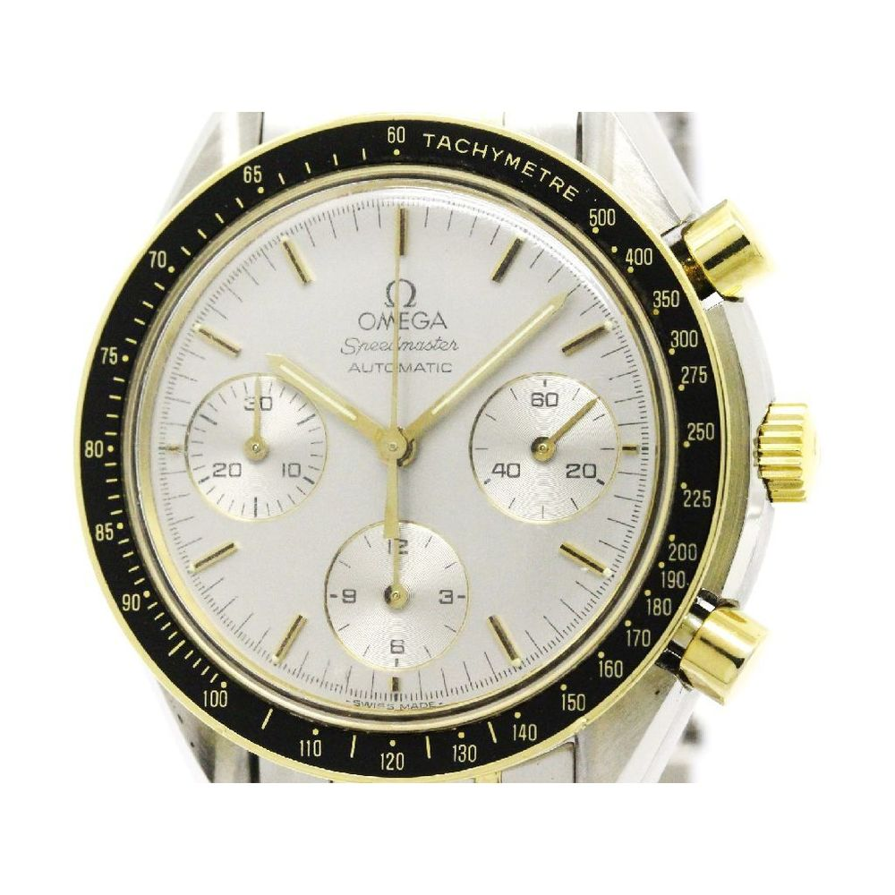 Omega Speedmaster Automatic Yellow Gold (18K),Stainless Steel Men's Sports Watch 175.0032