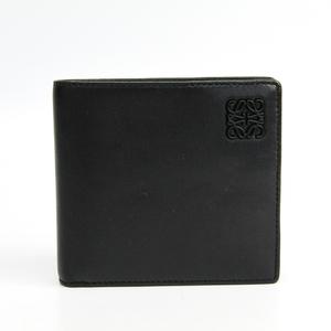 ロエベ(Loewe) 109.80.501 メンズ  ラムスキン 財布(二つ折り) ブラック,ネイビー