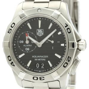 Tag Heuer Aquaracer Quartz Stainless Steel Men's Sports Watch WAP111Z
