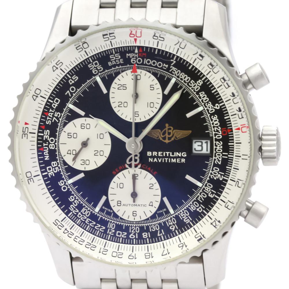 【BREITLING】ブライトリング ナビタイマー ファイターズ ステンレススチール 自動巻き メンズ 時計 A13330