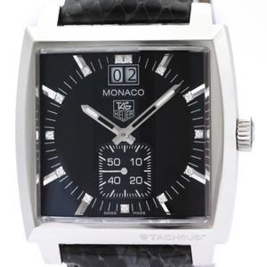 Tag Heuer Monaco Quartz Stainless Steel Unisex Sports Watch WAW1310
