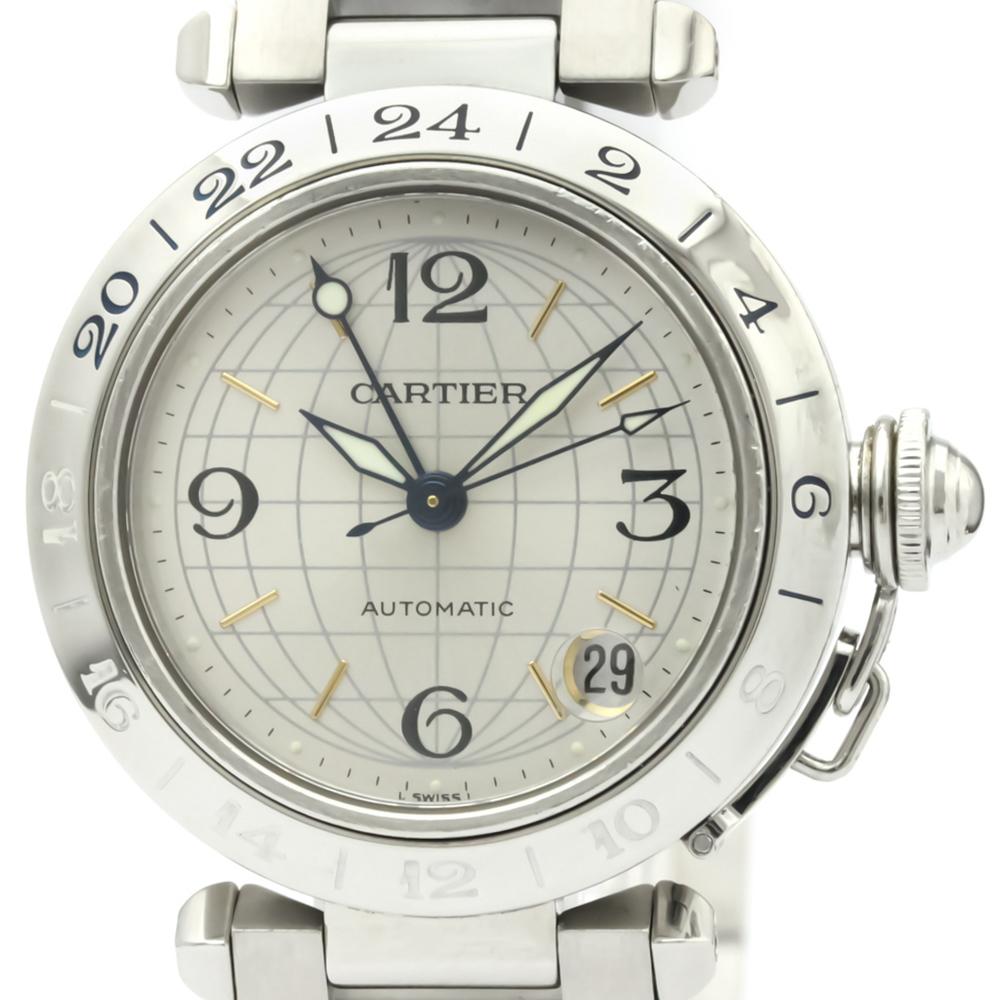 【CARTIER】カルティエ パシャC メリディアン ステンレススチール 自動巻き ユニセックス 時計 W31029M7