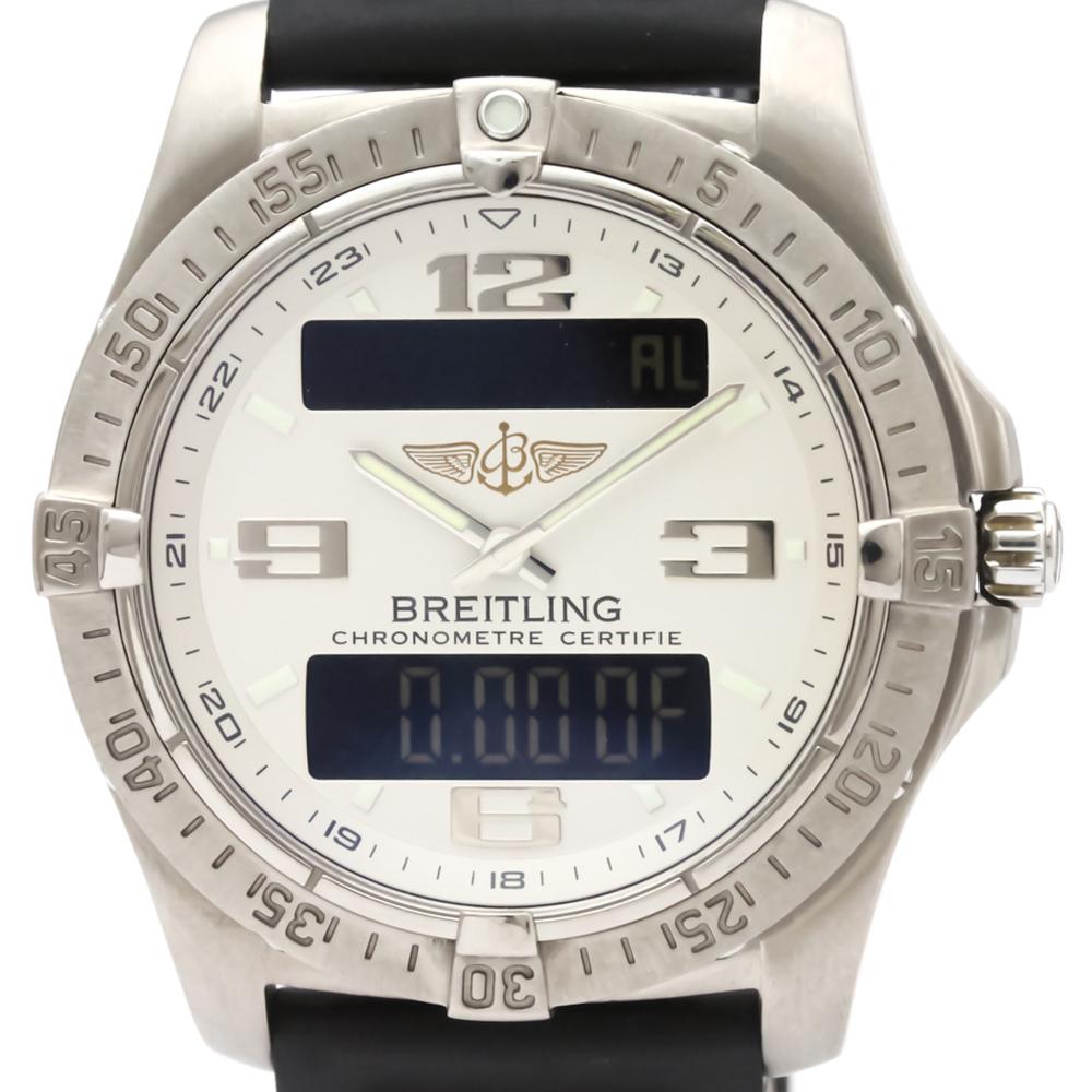 Breitling Aerospace Quartz Titanium Men's Sports Watch E79362