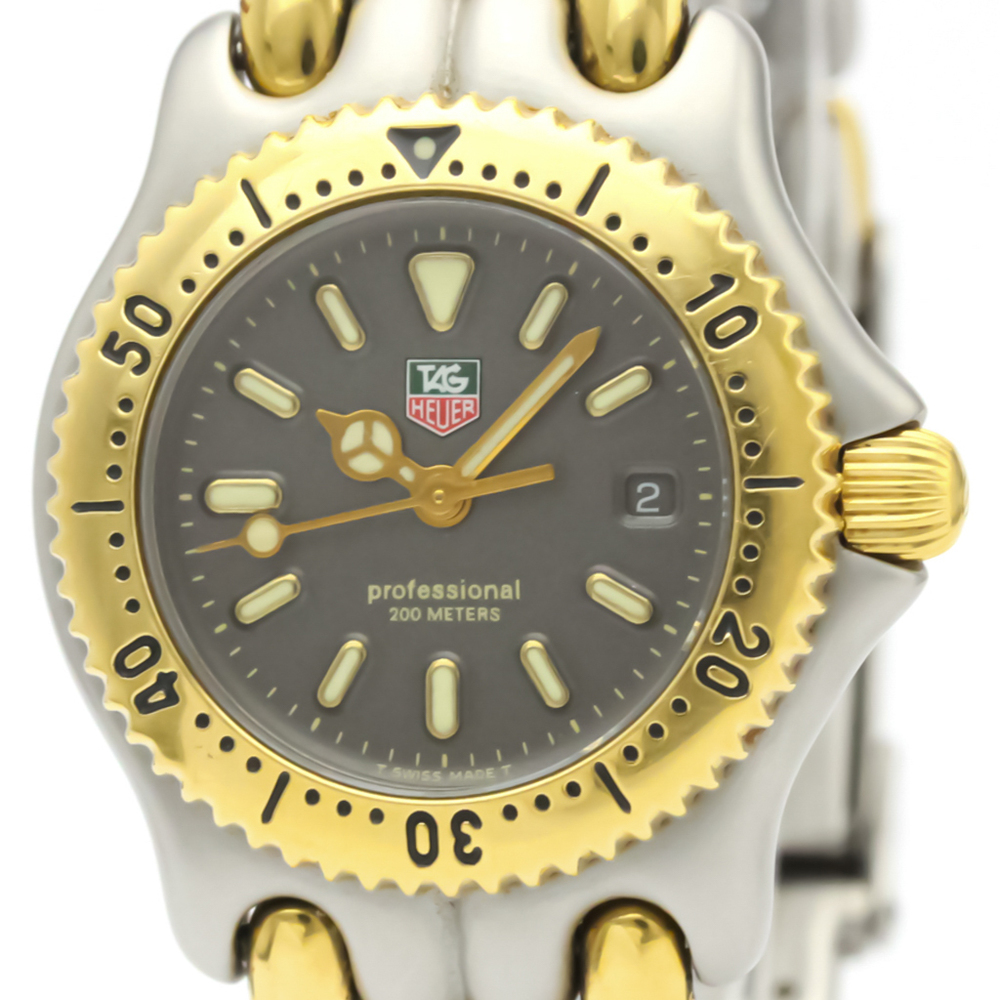 TAG HEUER Sel Professional 200M Gold Plated Steel Ladies Watch S95.215