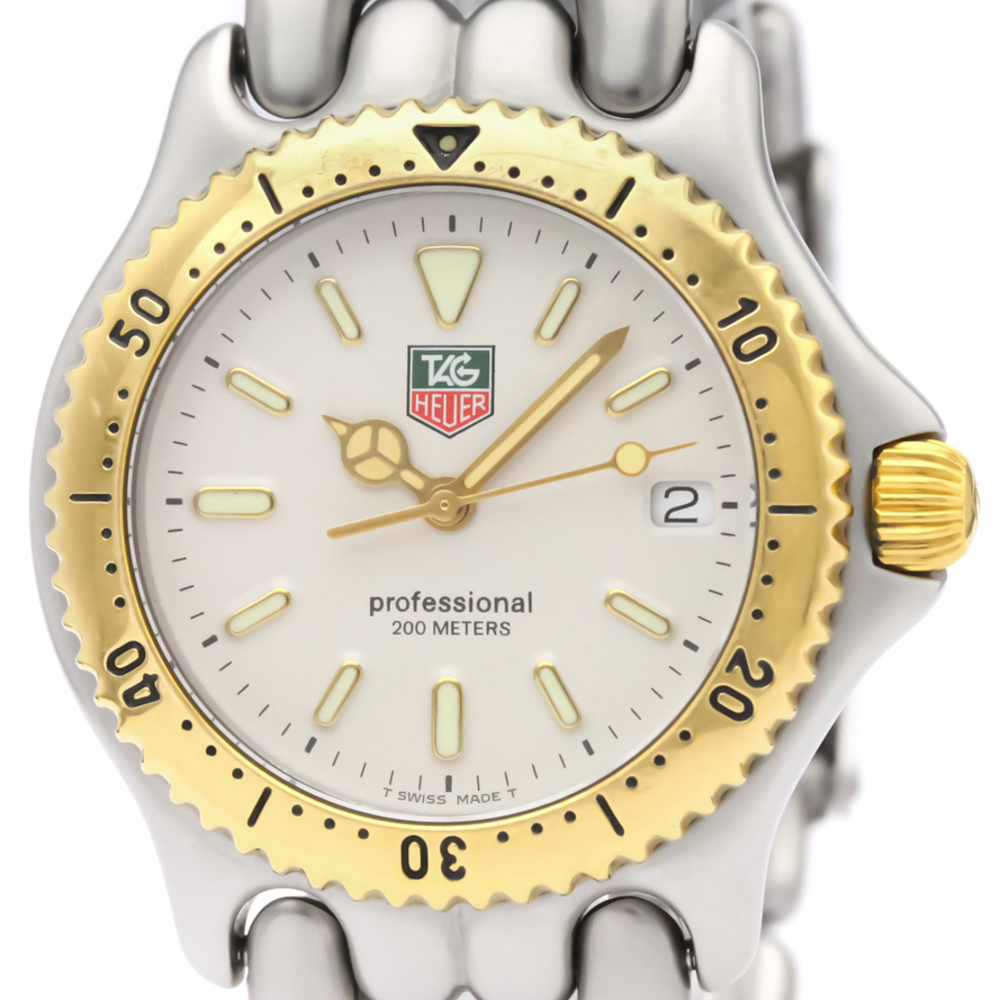 Tag Heuer Sel Quartz Gold Plated,Stainless Steel Unisex Dress Watch S95.813