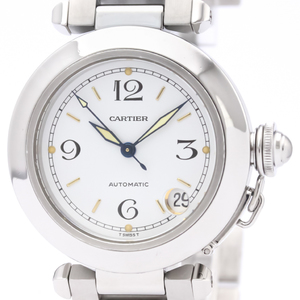 Cartier Pasha C Automatic Stainless Steel Unisex Dress Watch W31015M7