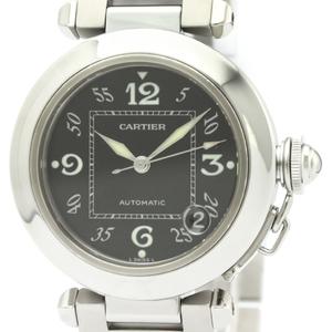 CARTIER Pasha C Steel Automatic Unisex Watch W31043M7