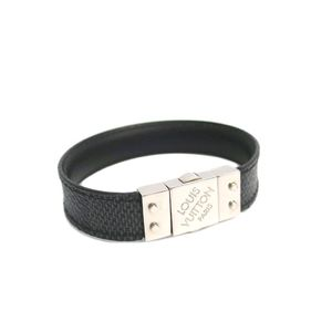 Louis Vuitton Damier Graphite Damier Graphite Bracelet Damier Graphite M6606D
