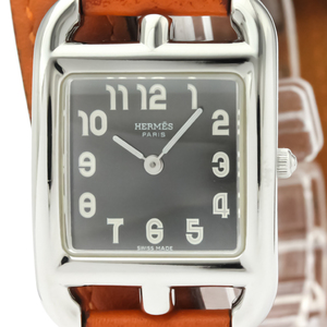 Hermes Cape Cod Quartz Stainless Steel Women's Dress Watch CC1.210
