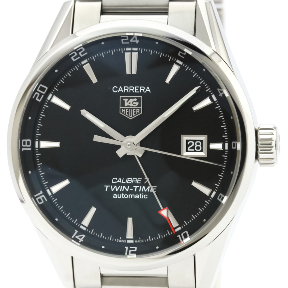Tag Heuer Carrera Automatic Stainless Steel Men's Sports Watch WAR2010