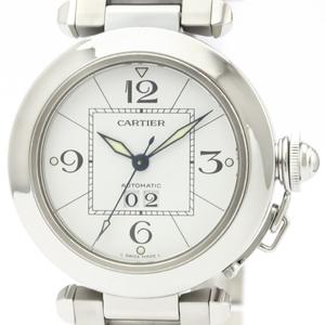 CARTIER Pasha C Big Date Steel Automatic Unisex Watch W31055M7