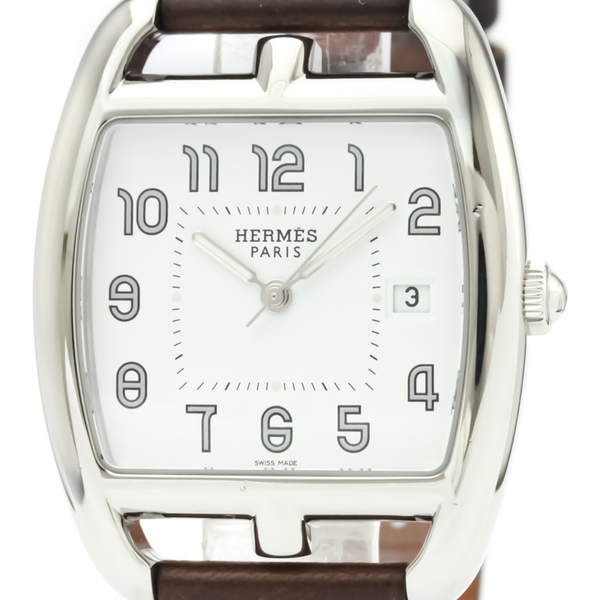 Hermes Cape Cod Quartz Stainless Steel Men's Dress Watch CT1.710