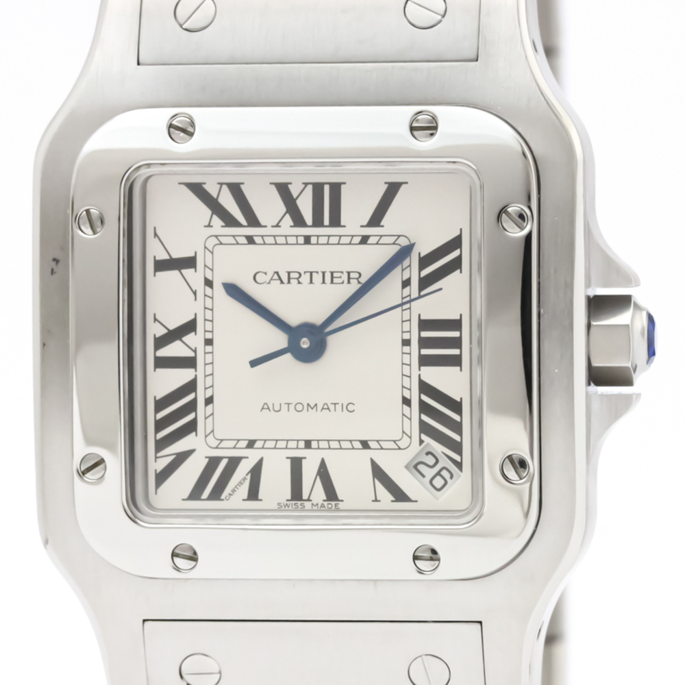 Cartier Santos Galbee Automatic Stainless Steel Men's Dress Watch W20098D6