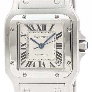 Cartier Santos Galbee Automatic Stainless Steel Men's Dress Watch W20098D6