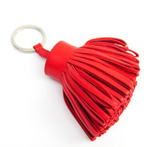 Hermes Carmen Keyring (Red)