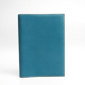 Hermes Agenda Planner Cover Blue Jean