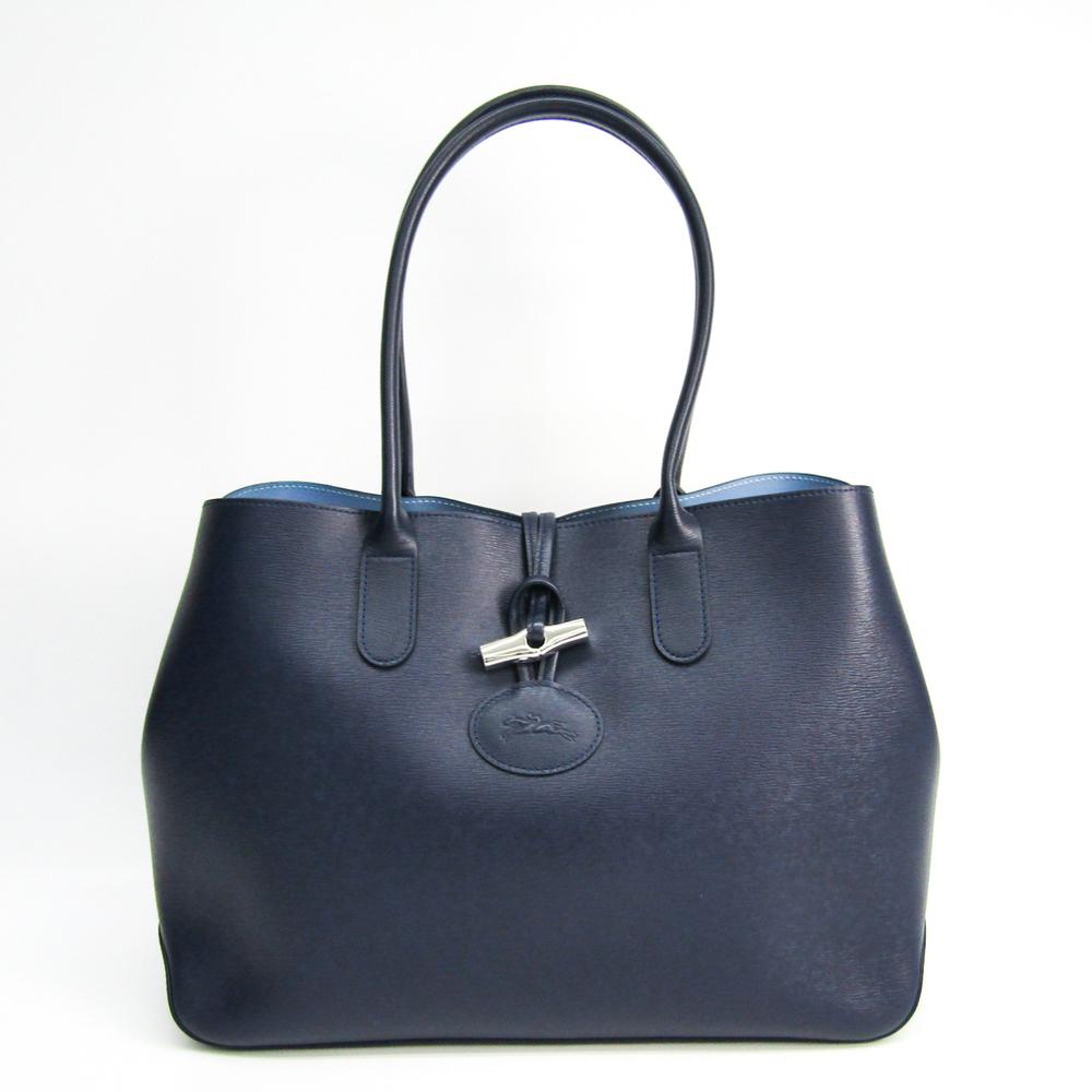ロンシャン(Longchamp) ロゾ 2686 871 006 レディース レザー ハンドバッグ ブルー,ネイビー