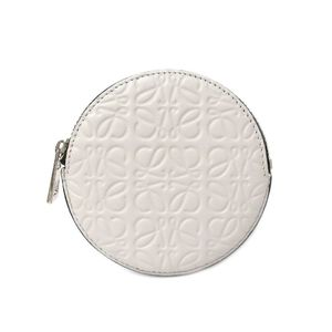 Loewe 107.55.951 Repeat Unisex Coin Purse/coin Case White
