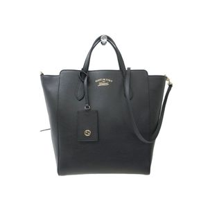 Gucci Gucci Swing 368824 Women's Tote Bag Black