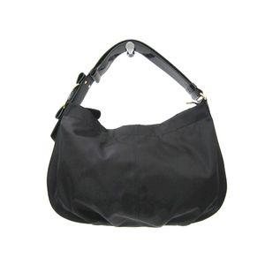 Salvatore Ferragamo AU-21 D337 Women's Shoulder Bag Black