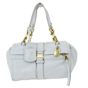 Loewe Women's Leather Handbag White