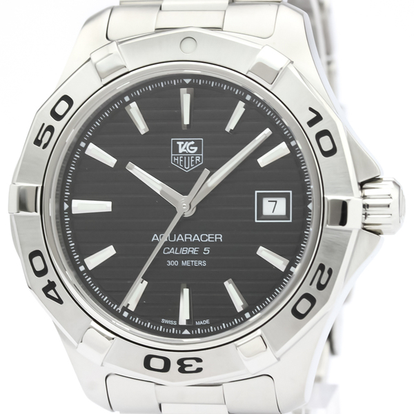 Tag Heuer Aquaracer Automatic Stainless Steel Men's Sports Watch WAP2010