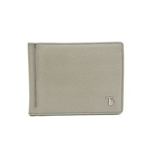 Tod's Men's Bill Wallet (bi-fold) Gray