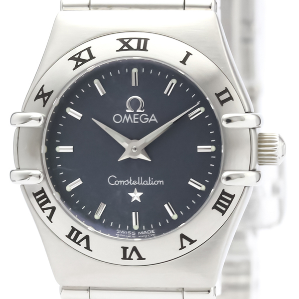 Omega Constellation Quartz Stainless Steel Women's Dress Watch 1562.40