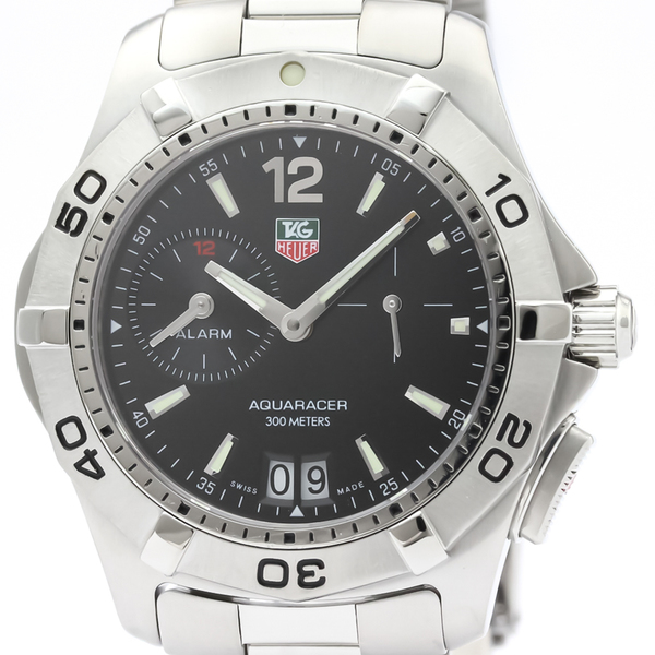Tag Heuer Aquaracer Quartz Stainless Steel Men's Sports Watch WAF111Z