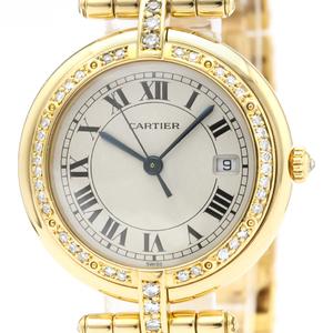 カルティエ(Cartier) パンテール ラウンド クォーツ K18イエローゴールド(K18YG) レディース ドレスウォッチ