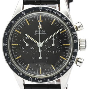Omega Speedmaster Mechanical Stainless Steel Men's Sports Watch 105.003