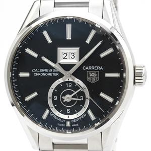 【TAG HEUER】タグホイヤー カレラ キャリバー8 GMT  ステンレススチール 自動巻き メンズ 時計 WAR5010
