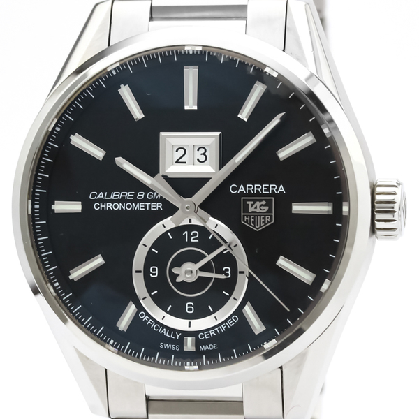 TAG HEUER Carrera Calibre 8 GMT Automatic Mens Watch WAR5010
