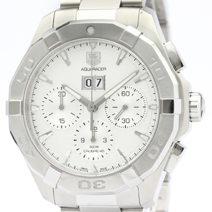 Tag Heuer Aquaracer Automatic Stainless Steel Men's Sports Watch CAY211Y