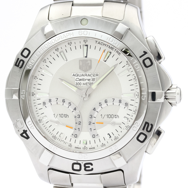 TAG HEUER Aqua Racer 300M Calibre S Steel Quartz Mens Watch CAF7011
