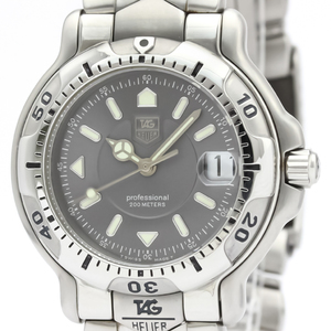 Tag Heuer 6000 Series Quartz Stainless Steel Men's Sports Watch WH1212