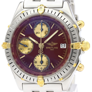 Breitling Chronomat Automatic Stainless Steel,Yellow Gold (18K) Men's Sports Watch B13048