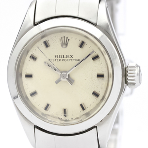 ROLEX Oyster Perpetual 6618 Steel Automatic Ladies Watch