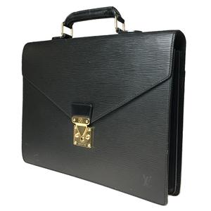 ルイ・ヴィトン(Louis Vuitton) エピ M54412 セルヴィエット アンバサダー ブリーフケース ノワール