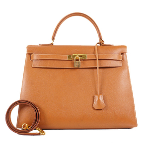 Auth Hermes Kelly Kelly 35 ○W Stamp Mark Courchevel