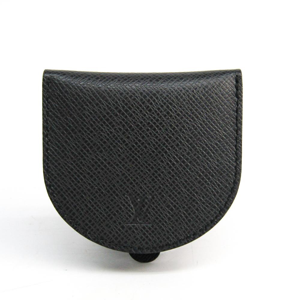 chaussures élégantes se connecter vente chaude Louis Vuitton Taiga Porte Monnaie Cuvette M64422 Men's Taiga Leather Coin  Purse/coin Case Ardoise   eLady.com