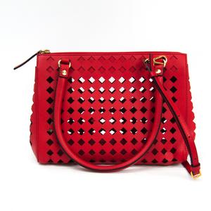 Marni BMMPP08S21 Leather Handbag Red