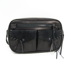 Coach 36474 Unisex Leather Fanny Pack Black