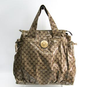 グッチ(Gucci) ヒステリア 197022 ユニセックス GGクリスタル ハンドバッグ ベージュ