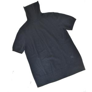 バーバリー(Burberry) レディース カジュアル セーター 2 (ブラック) 半袖ニット