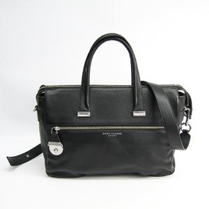 Marc Jacobs THE STANDARD MEDIUM EW TOTE M0011225 Women's Leather Handbag Black
