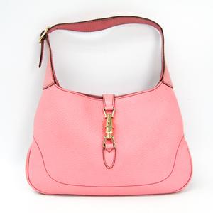グッチ(Gucci) ニュージャッキー 137335 レディース レザー ショルダーバッグ ピンク