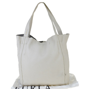 Furla Leather Tote Bag Ivory