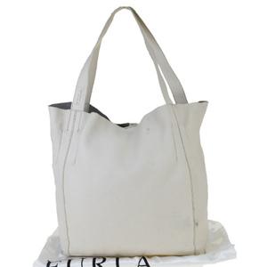 Furla Leather Tote Bag Ivory
